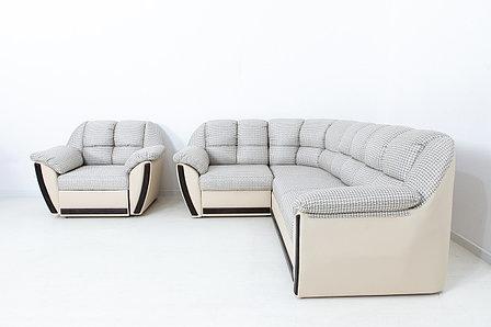 Комплект мягкой мебели Элегант, Бежевый/Коричневый, АСМ(Россия), фото 2