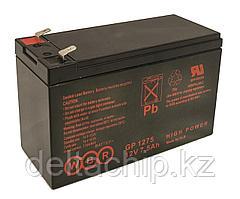 WBR GP1275 7.5A F2 (151*65*94MM) AGM аккумулятор.