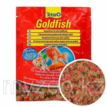Корм для золотых рыбок Тетра Goldfish хлопья