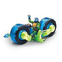 Мотоцикл черапашки ниндзя с фигуркой Лео 82481