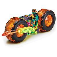 Мотоцикл черепашки ниндзя с фигуркой Майки 82483