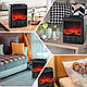 Электрокамин с эффектом живого огня Теплый дом, фото 8