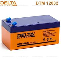 Delta DTM12032 3.2A F1 AGM аккумулятор.