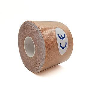 Кинезио тейп Jincheng Sports (цвет телесный) - пластырь для поддержки мышц 5 см х 5 м, фото 2