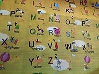 Термоковрик для детей с алфавитом. Размер 1,8 м.*1,5 м.*0,5 см. Kaspi RED. Рассрочка.
