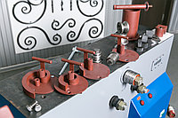 Артикул ДО-3. Комплект сменных роликов для радиусной гибки из круглых труб и профильных труб по ребру