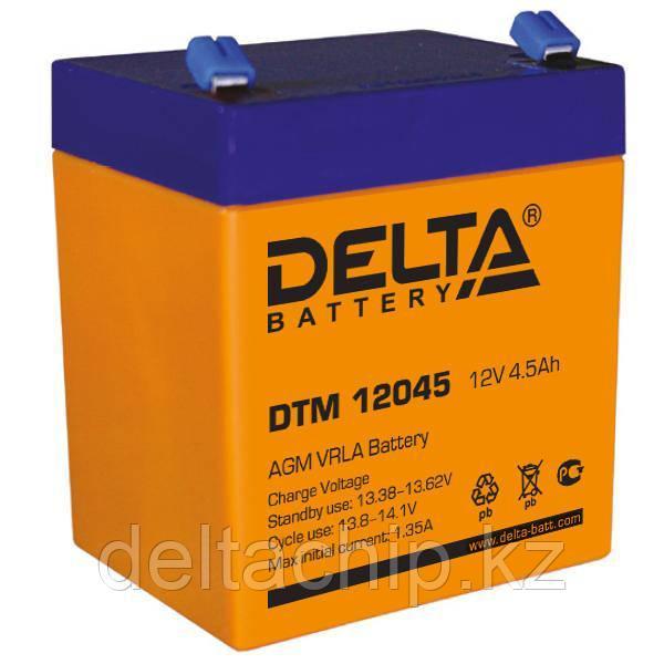 Delta DTM12045 4.5A F1 AGM аккумулятор.