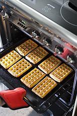Силиконовая форма для выпечки вафель Прямоугольники, фото 3
