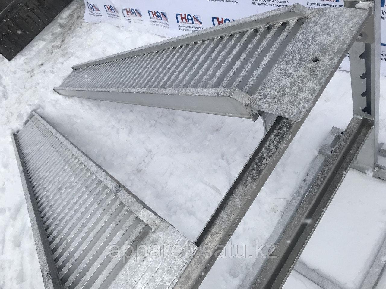 Алюминиевые трапы 2,7 тонны, 3 метра