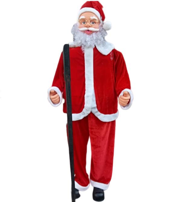 """Музыкальная фигура """"Дед Мороз"""" 1,8 метров"""