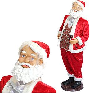 """Музыкальная фигура """"Дед Мороз"""" 1,5 метров"""
