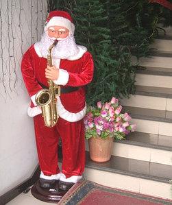 """Музыкальная фигура """"Дед Мороз"""" 1,2 метров"""