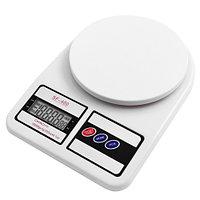 Весы кухонные электронные с дисплеем до 10 кг. деление 1 г. SF-400