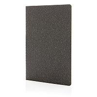 Тонкий блокнот Standard в мягкой обложке, А5, черный, Длина 21 см., ширина 14 см., высота 0,5 см., P772.071, фото 1
