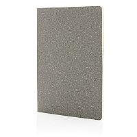 Тонкий блокнот Standard в мягкой обложке, А5, серый, Длина 21 см., ширина 14 см., высота 0,5 см., P772.072, фото 1