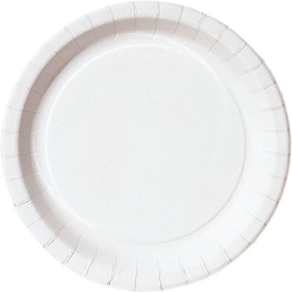 Тарелка d 180мм, глубок., бел., ламин., картон, 1000 шт