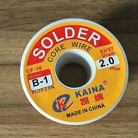 Припой с флюсом SOLDER CF-10 B-1  2mm KAINA