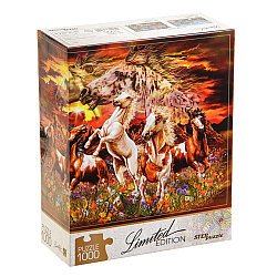 Пазл Limited Edition - Найди 16 лошадей, 1000 элементов
