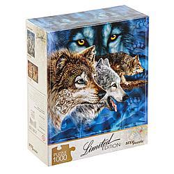 Пазл Limited Edition - Найди 12 волков, 1000 элементов