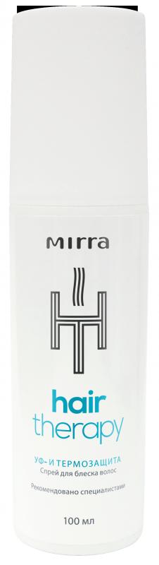 MIRRA Спрей для блеска волос УФ- и термозащита