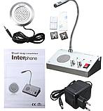 Переговорное устройство клиент – кассир Dual Way Counter Interphone, фото 3