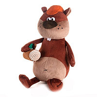 """Мягкая игрушка """"ДуRашки"""" Бобёр & Brevno, 27 см"""