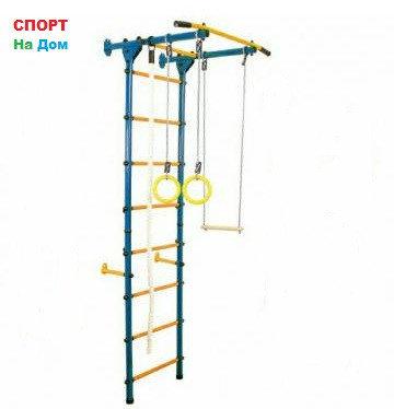 Детский спорткомплекс пристенный Юный Атлет (Высота 220 см), фото 2