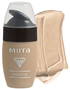 MIRRA Тональная основа - тон «Слоновая кость»