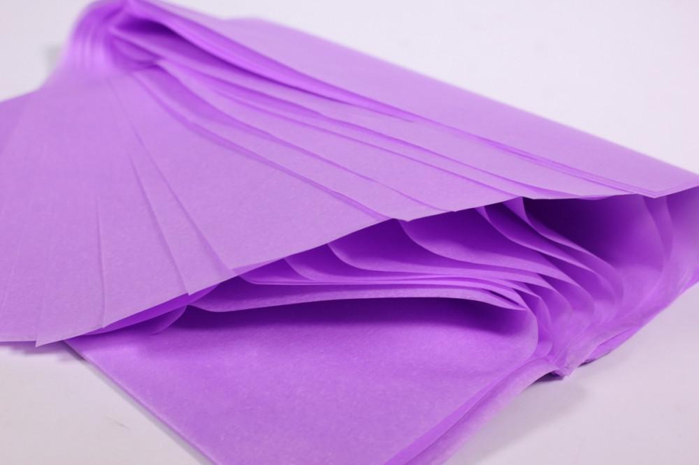 Бумага тишью, tissue paper (свело сиреневый) , 10 листов,50х66 см, Алматы