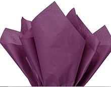 Бумага тишью, tissue paper (темно  сиреневый) , 10 листов, 50х66 см, Алматы