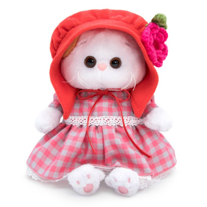 """Мягкая игрушка """"Ли-Ли Baby"""" в красной шапочке, 20 см"""