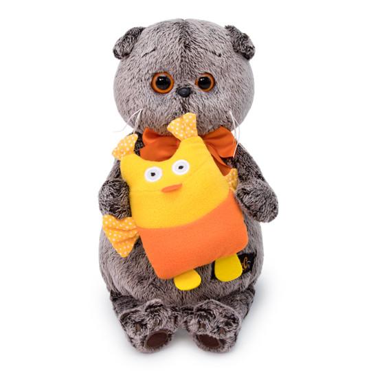 """Мягкая игрушка """"Басик с совой"""", 19 см"""