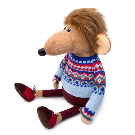 Мягкая игрушка Крыс Мистер Крысь, 32 см.
