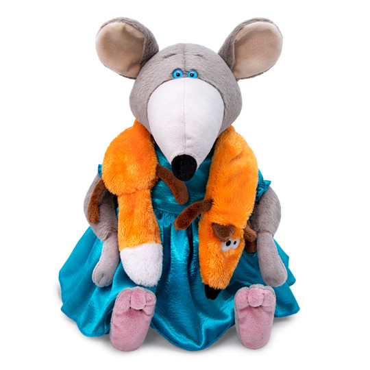 Мягкая игрушка Крыса Дама из Амстердама Ирма, 31 см.