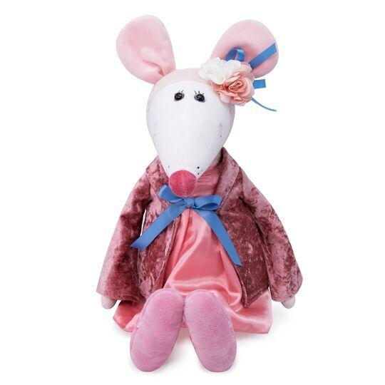 Мягкая игрушка Крыса Дама Жоржетта, 31 см.