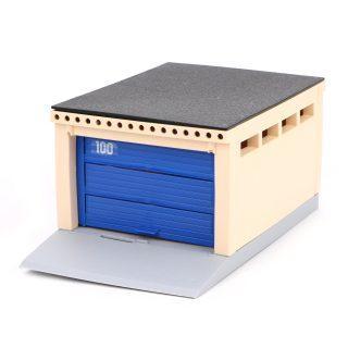 Игрушечный гараж с подъёмными воротами, для моделей 1/36