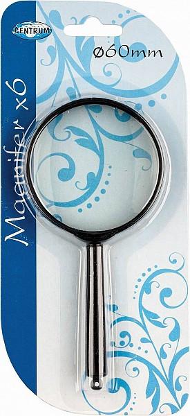 Лупа Magnifier, 60 мм, 6-кратное увеличение