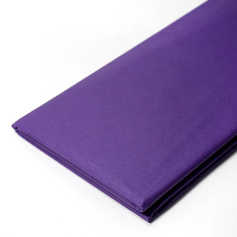 Бумага тишью, tissue paper (синий) ,10 листов,  50х66 см, Алматы