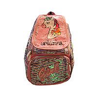 Рюкзак детский, Единорог пайетки (L12-1)