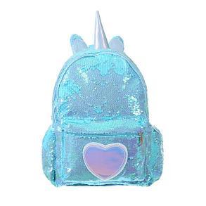 Рюкзак детский, Единорог пайетки (L33), фото 2