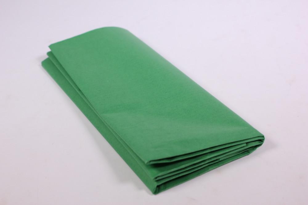 Бумага тишью, tissue paper (зеленый) ,10 листов, 50х66 см, Алматы
