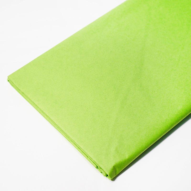 Бумага тишью, tissue paper (ярко зеленый) 10 листов,, 50х66 см, Алматы