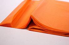 Бумага тишью, tissue paper (оранжевый) ,20 листов, 50х66 см, Алматы
