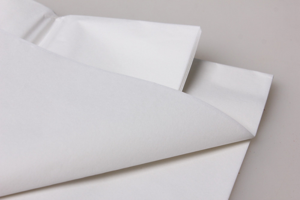 Бумага тишью, tissue paper , (белый) 20 листов, 50х66 см, Алматы