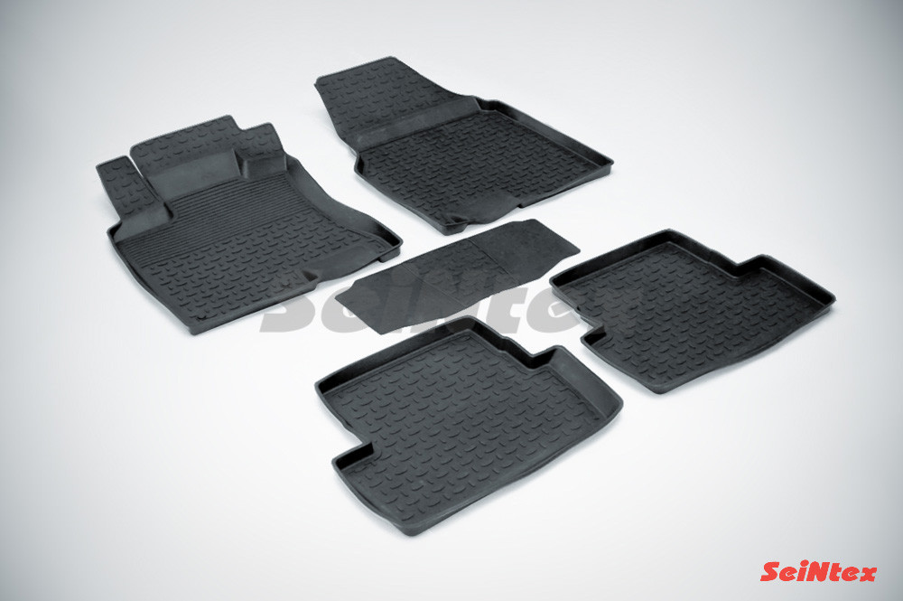 Резиновые коврики для Nissan Qashqai 2007-2014