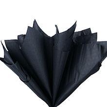 Бумага тишью, tissue paper , (черный) 20 листов, 50х66 см, Алматы