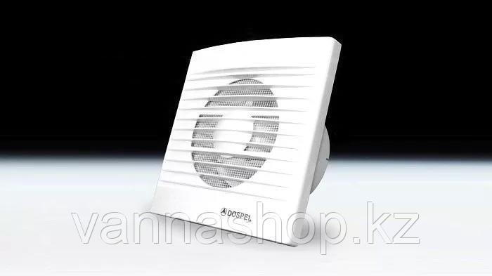 Вытяжной вентилятор в ванную комнату STYL-100 пластик