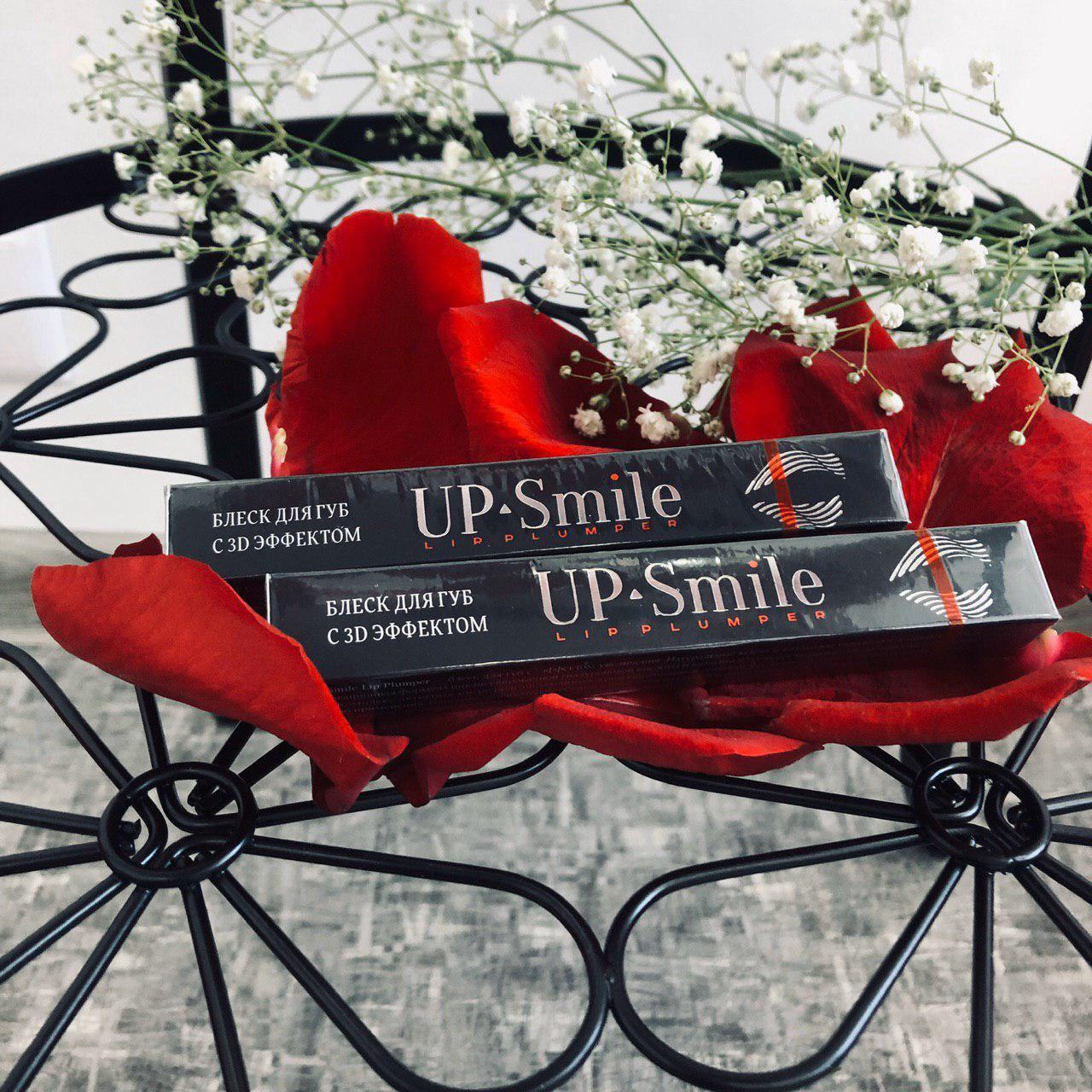 Блеск для губ с 3D эффектом Up-Smile от White&Smile