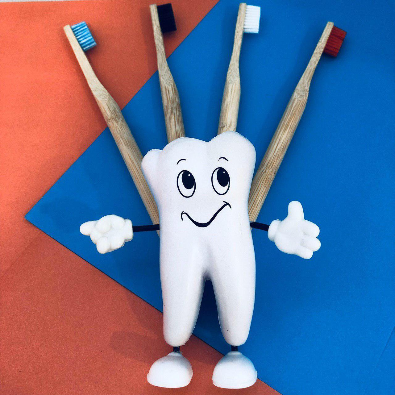Экологичные бамбуковые зубные щётки Eco-friendly от White&Smile