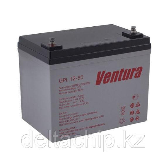 GPL 12-80 Ventura 80A AGM аккумулятор.